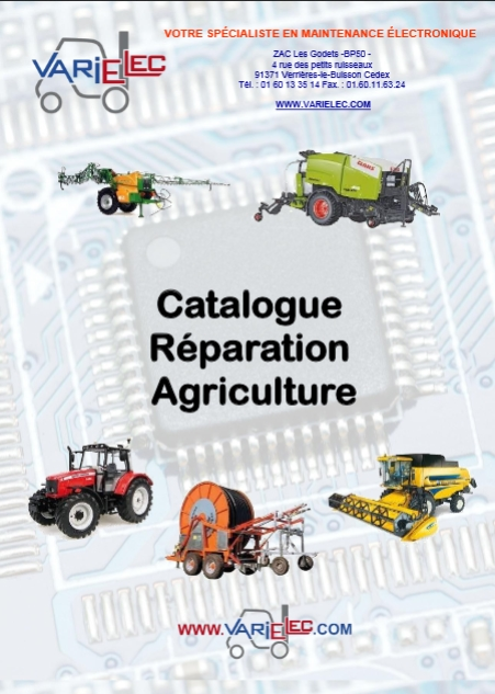 Catalogue Réparation Agriculture